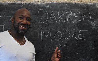 Inspire Afrika Ambassador Darren Moore Embraces Trip to Kenya