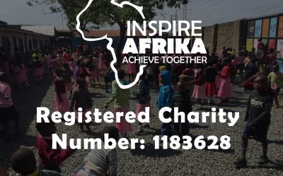 Inspire Afrika is now a registered charity!